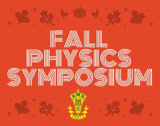 2018 Sigma Pi Sigma Research Symposium